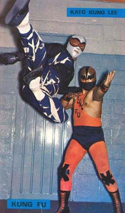 Kato Kung Lee and Kung Fu