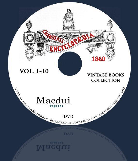 Chambers's Encyclopaedia 1860-1870 Vintage Books by MacduiDigital