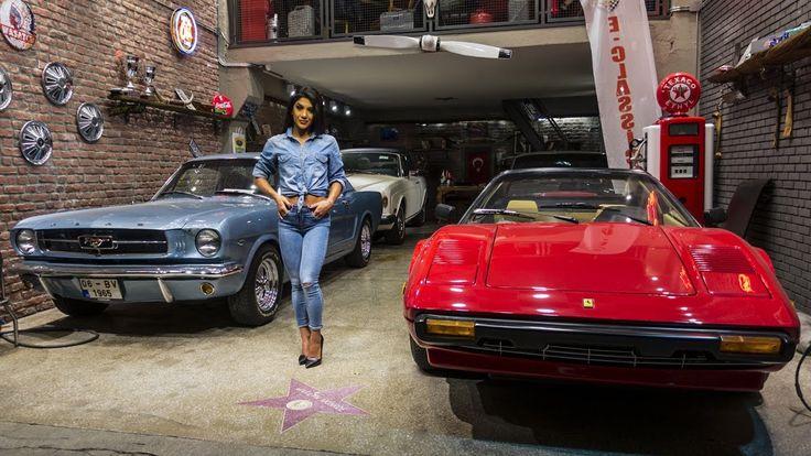 Deniz+Saypınar+ile+Klasik+Otomobil+Garaj+Ziyareti+&+Fiat+500+|+The+Hatuns