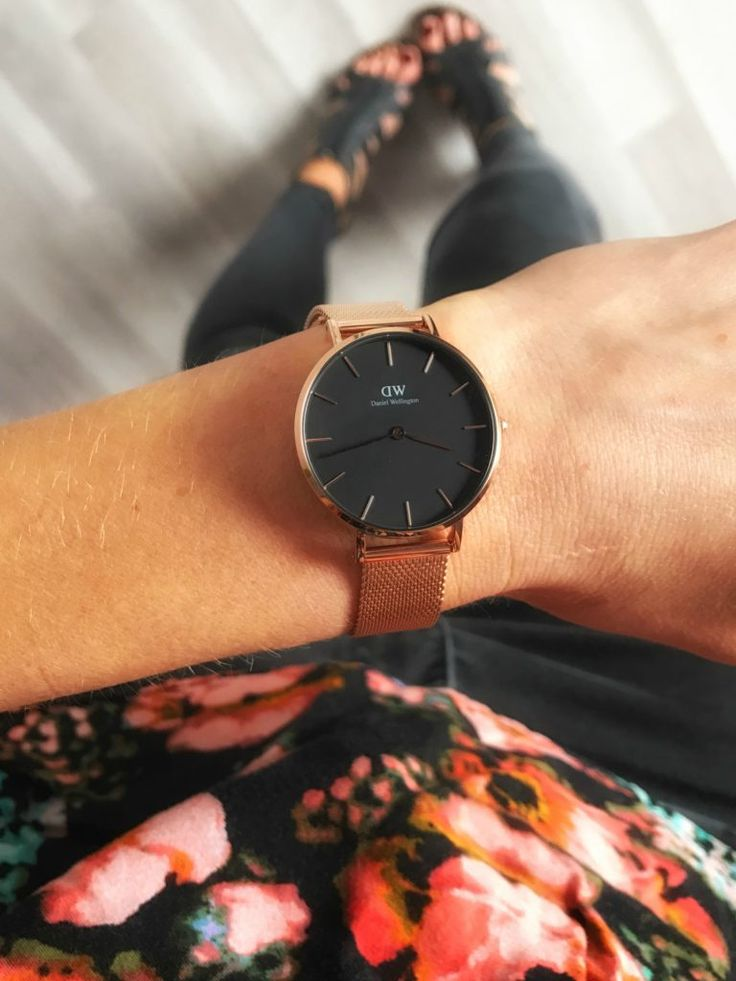 mesh strap watch. the brand new #DWClassicPetite by #DanielWellington. use code JENNB to get 15% off from your order at dw!!