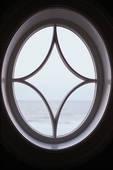 Traum: Ovales Fenster über der Eingangstür