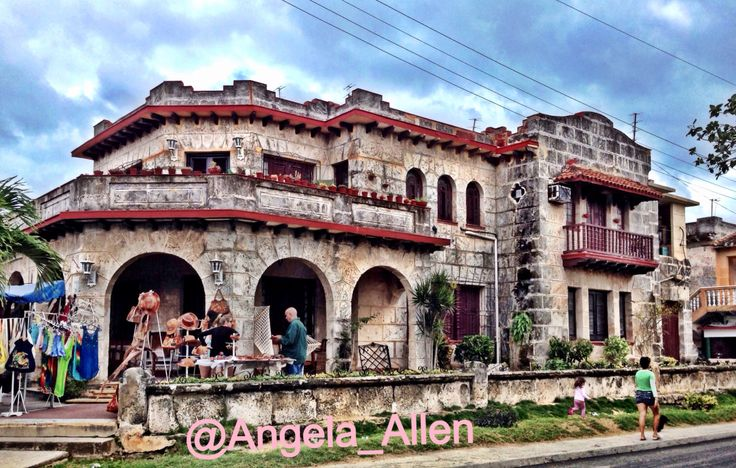 A beautiful place along the street in Varadero