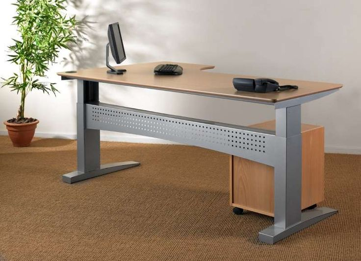 Conset 501 11 Height Adjustable Table The 501 11 Has A