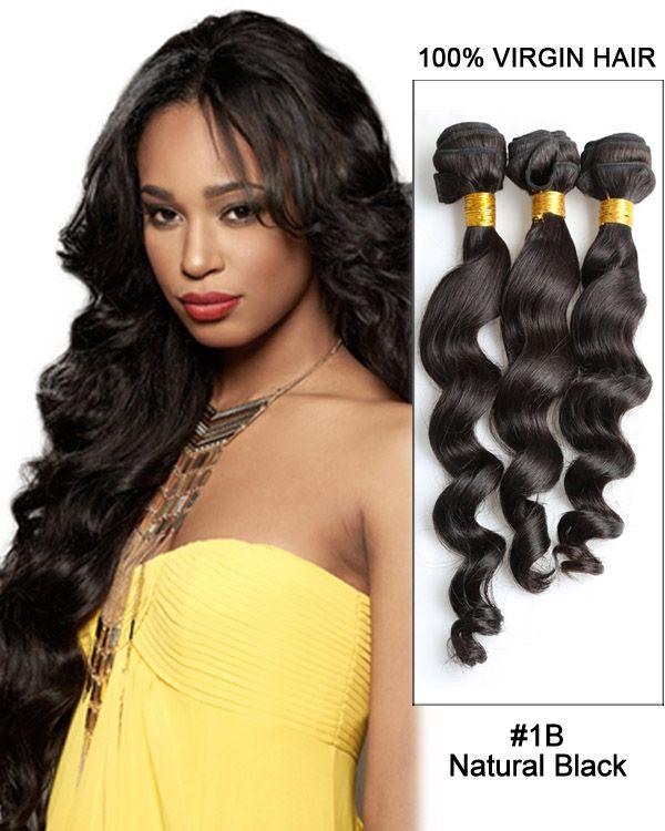 65 best virgin peruvian hair images on pinterest peruvian hair 28 natural black loose wave unprocessed virgin peruvian hair weave weft hair extensions pmusecretfo Image collections