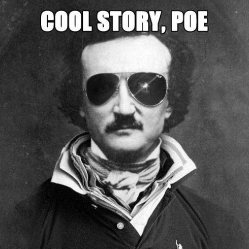 a brief biography about the negative side of edgar allan poe A short edgar allan poe biography describes edgar allan poe's life, times, and work also explains the historical and literary context that influenced poe's short stories.