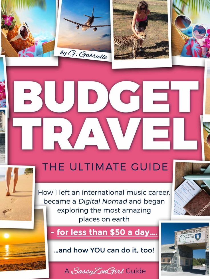 #1 Amazon Bestseller: Budget Travel - The Ultimate Guide by G. Gabrielle - a SassyZenGirl