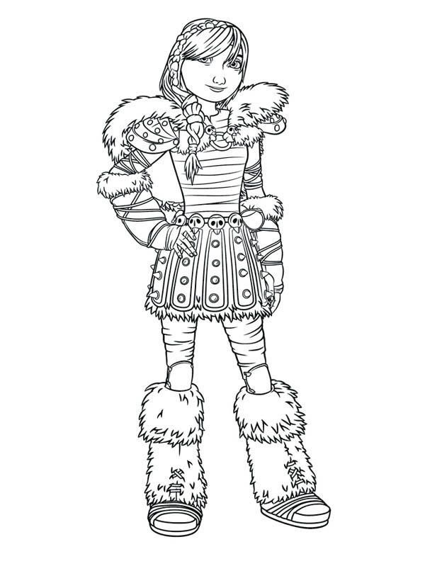 Picture Of Astrid How To Train Your Dragon Coloring Pages Dragon Coloring Page How Train Your Dragon How To Train Your Dragon