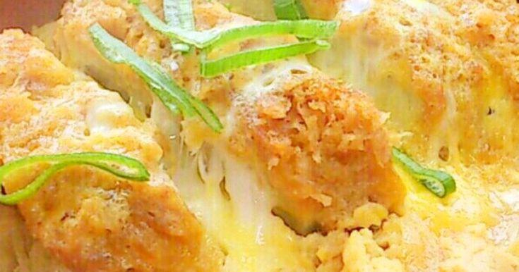 麺つゆカツ丼★お弁当用はグチャ2しない! by しじみ24 [クックパッド] 簡単おいしいみんなのレシピが254万品