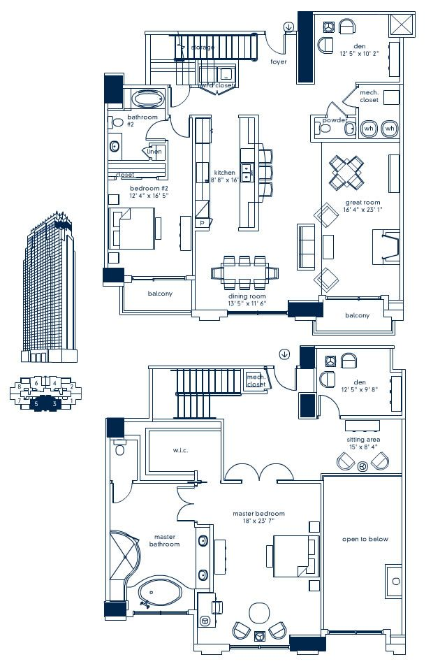 Best 25 condo floor plans ideas on pinterest apartment for 1 bedroom condo floor plans