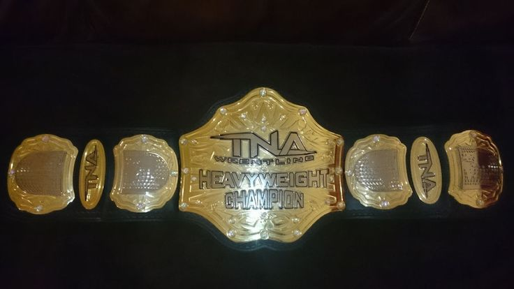 TNA World Heavyweight Championship Belt (2011)  | eBay