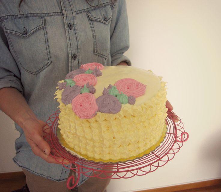 '50s-inspired Bday cake       C A K E M Y D A Y