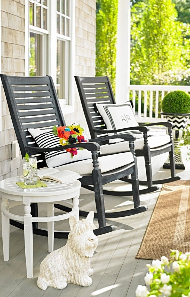 25 best ideas about outdoor rocking chairs on pinterest for Chairs for front porch