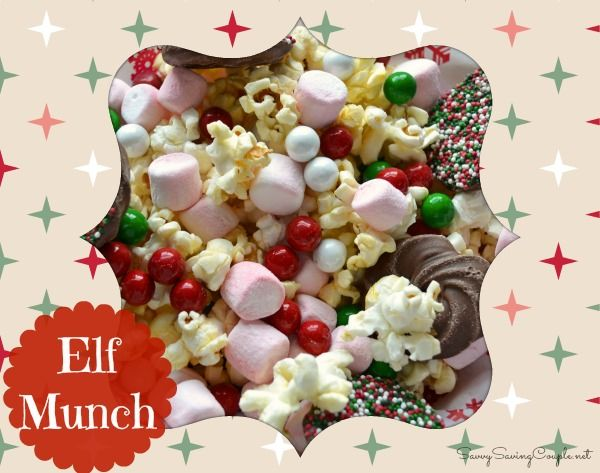 Christmas Elf Munch Featuring Jolly Time Popcorn #Recipe #GlutenFree