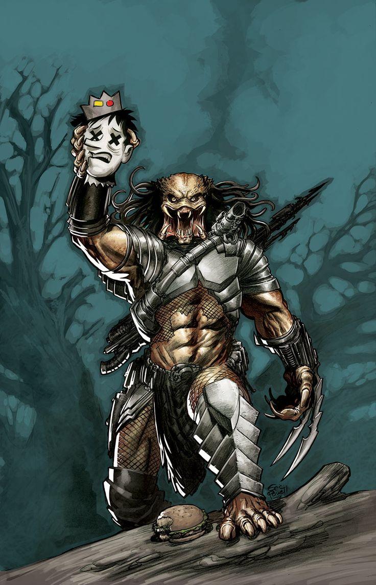 Archie vs. Predator #1 by Eric Powell