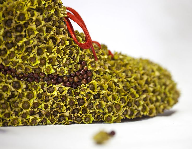 new style 39200 ea57b christophe guinet crafts living NIKE sneakers from flowers