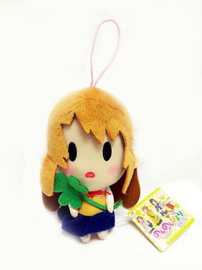 "Crunchyroll - Non Non Biyori Repeat Komari Koshigaya With Lucky Clover Mascot 5.5"" Plush"