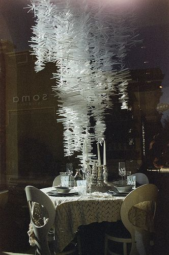 Anthropologie's window display | film was 7 years old, maybe… | Flickr