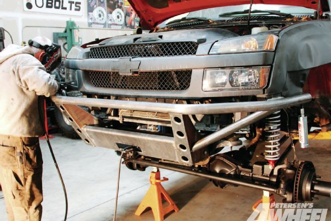 How To Build A Tube Bumper 2003 Chevy Avalanche