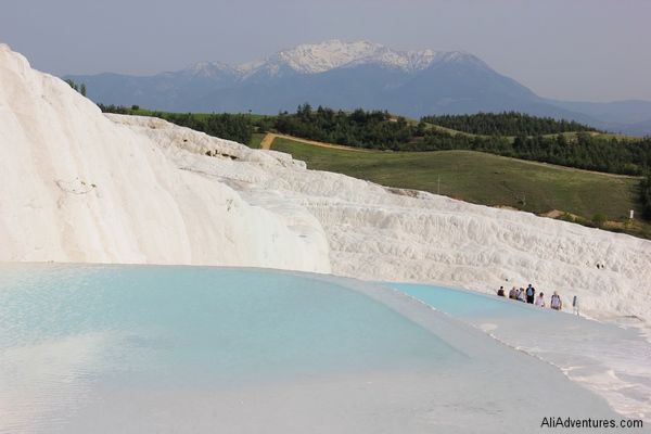 A Honeymoon in Turkey – Ali and Andrew Tell Their Story - Pamukkale Turkey