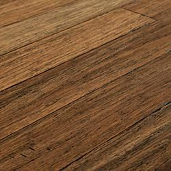 Bamboo handscraped strand woven collection strands for Cork vs bamboo flooring