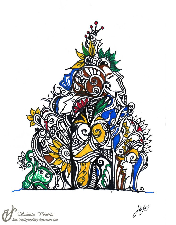 Ornament tattoo by Tuile-jewellery.deviantart.com on @deviantART