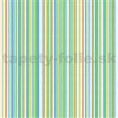 Moderné tapety Relax Colors 5 - zelené pruhy