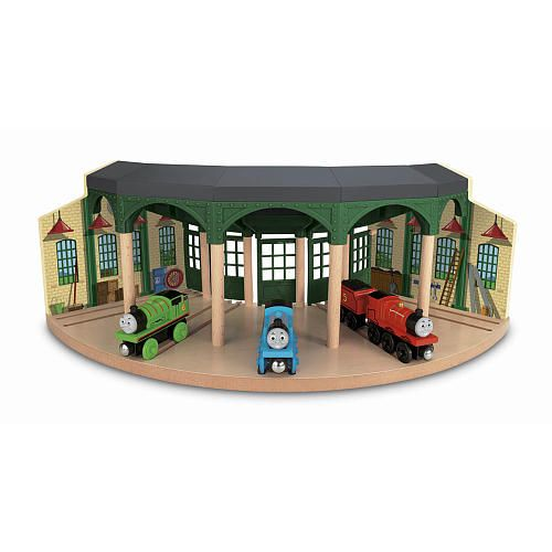 Toys Are Us Wooden Toys : Wooden railway tidmouth sheds recently purchased from toy