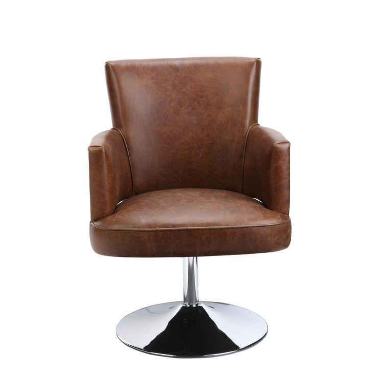 francis swivel club chair