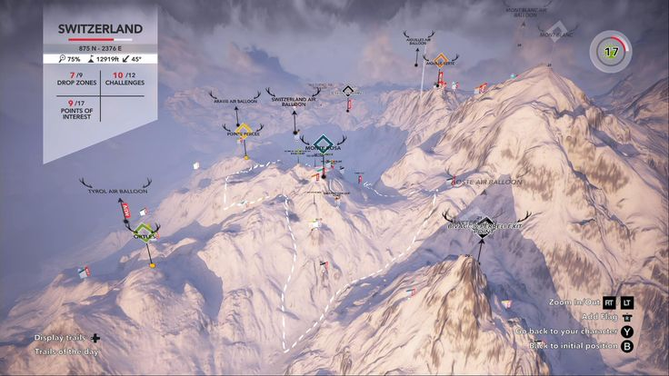 Image result for steep game map