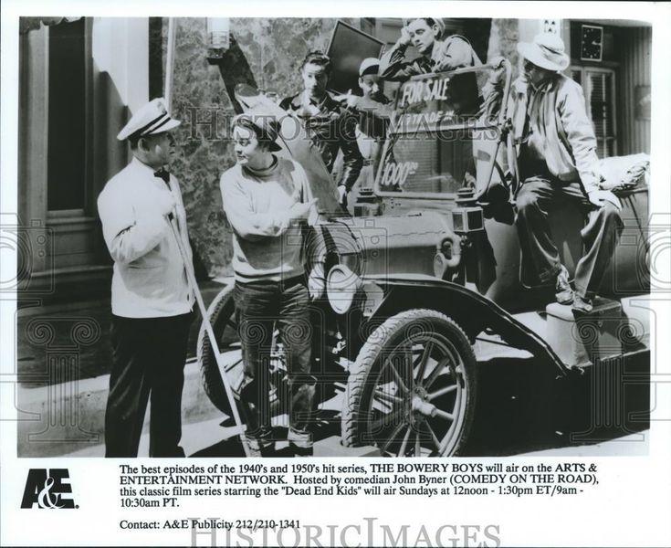 "1992 Press Photo ""The Bowery Boys"" - nop09742"