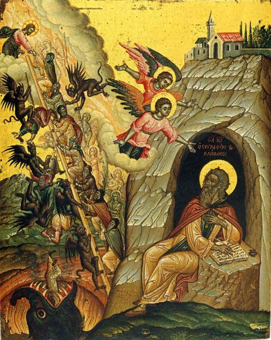 St John Climacus 1663 Cretan school