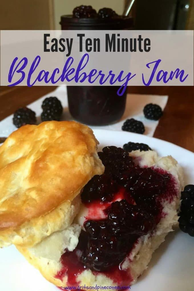 Easy Microwave Blackberry Jam