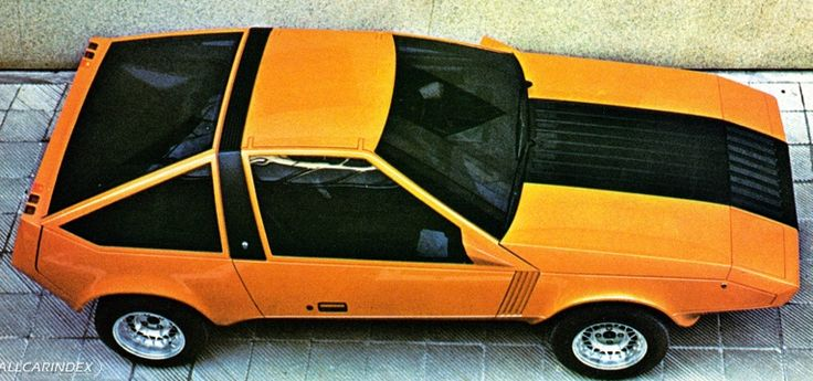 1976 Ford Corrida concept by Ghia