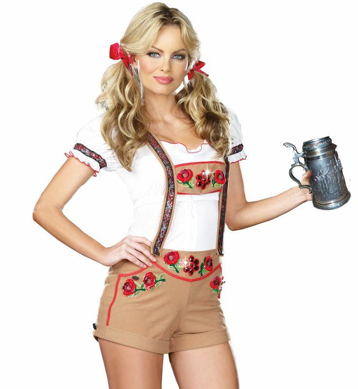 Women's Sexy Lederhosen Beer Girl German Costume - Halloween Costumes   fancy dress costumes Australia   wigs, masquerade masks   online shop