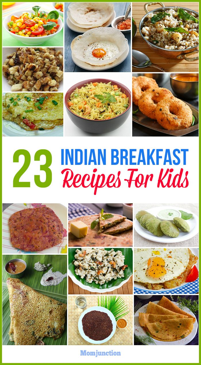 The 25 best indian baby food recipes ideas on pinterest 23 tasty and healthy indian breakfast recipes for kids forumfinder Image collections