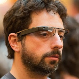 @Google Co-Founder @SergeyBrin Spotted Wearing #ProjectGlass Can't wait till these are main stream. #GoogleIsAwesome #technology
