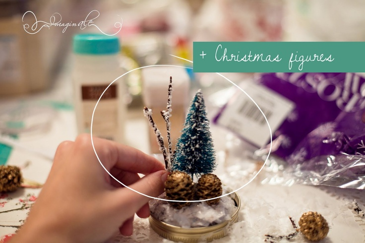 Imaginale Design Blog | Phoenix Lifestyle and Wedding Photographer: DIY Anthropologie Mason Jar Snowglobe
