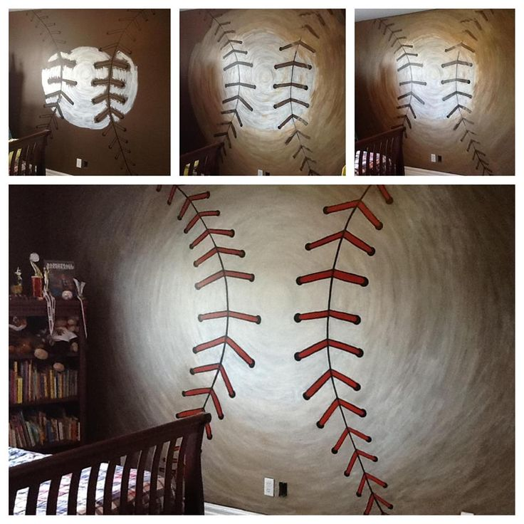 91 Best KIDS BOYS BASEBALL BEDROOM Images On Pinterest