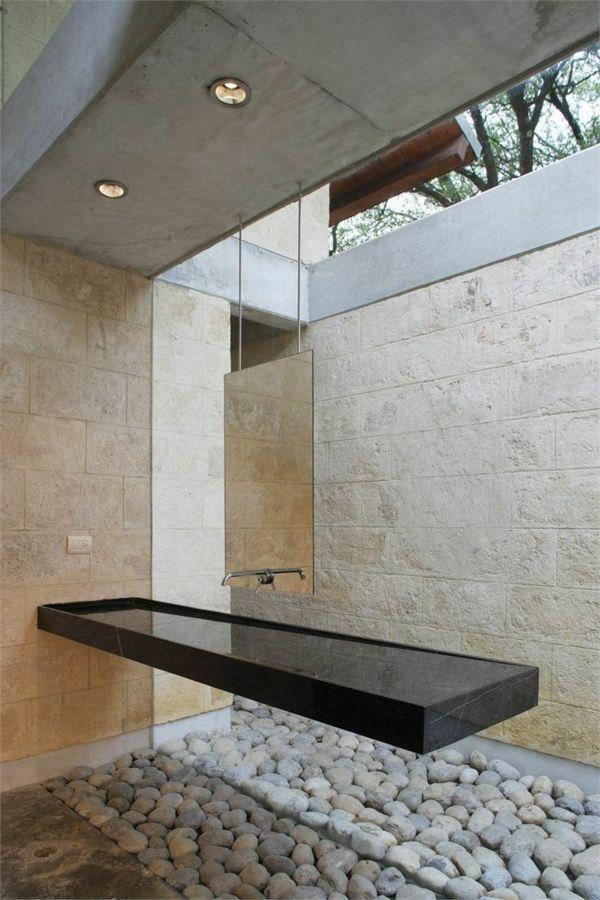 La vasque en pierre en 72 photos | jardin SDB | Salle de ...