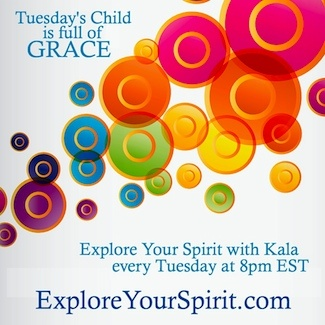New show every Tuesday on Explore Your Spirit with Kala and 350 shows in the archives, listen anytime for free