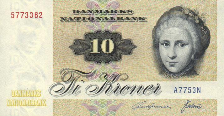 danish banknotes