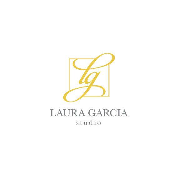 Calligraphy Logo Design-Initials Logo Design-Logo Design-Gold Logo Design-Graphic Design-Premade Logo-Jewelry Logo Design-Elegant Logo