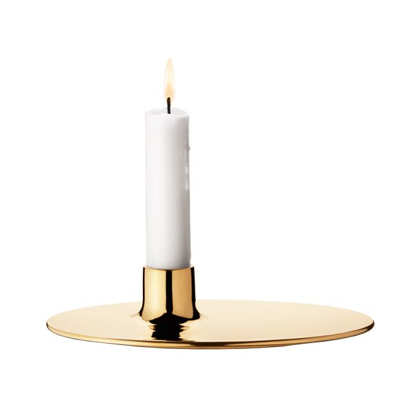 Precious candle holder by Ilse Crawford @ Georg Jensen