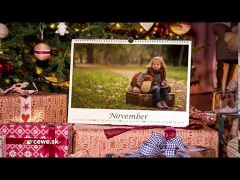 Cewekalendár je originálny vďaka tvojim fotografiám.
