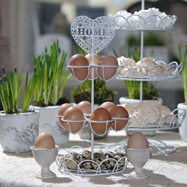 Etażerka Belldeco Romantic - na jajka, kapsułki do kawy - NieMaJakwDomu