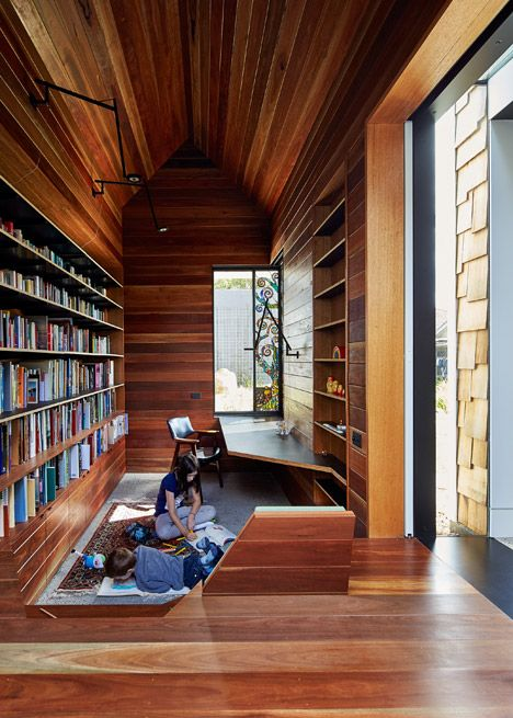 Tower House - library