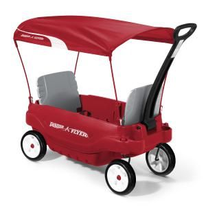 The 8 Best Wagons to Improve Your Child's Motor Skills: Radio Flyer Ultimate Family Wagon