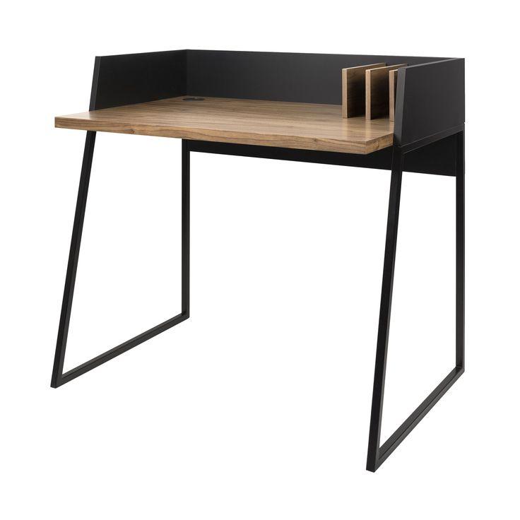Revel Schreibtisch Nussbaum/schwarz -  - A048307.002