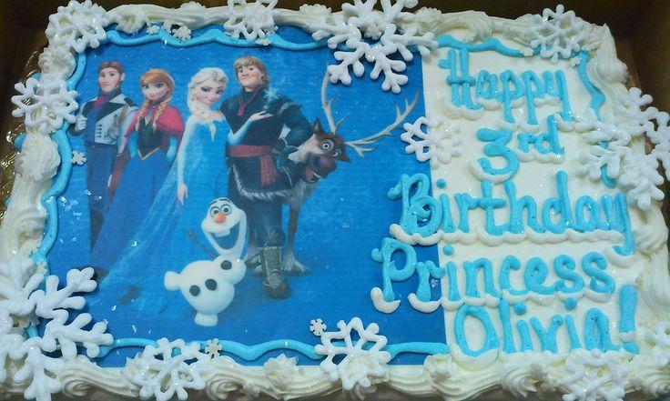 Disney Frozen Sheet Cake giftsforsubs
