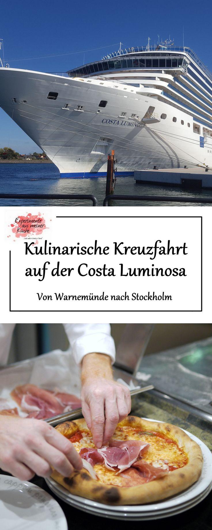 Kulinarische Kreuzfahrt auf der Costa Luminosa | Von Warnemünde nach Stockholm | Reisen